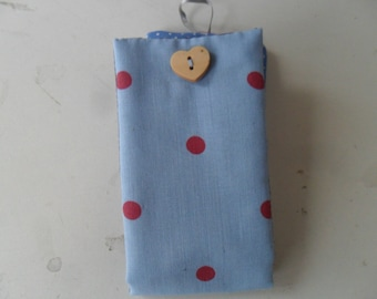 necessary sewing pouch fabric little dots
