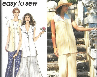Simplicity 8908 Misses Top, Pants And Skirt Pattern, Size 4-8, UNCUT