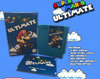 Super Mario Ultimate CIB NES Nintendo
