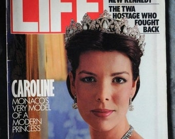 BTS Life  Magazine April  1986  Campaigning With A New Kennedy