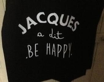 "Tote bag ""Simon says be happy"""