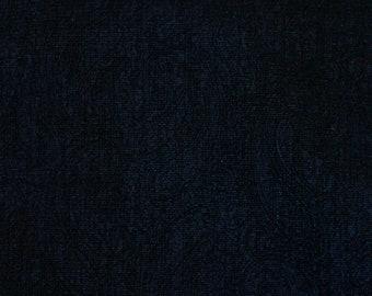 Vintage Japanese Silk Kimono Fabric Loop Velvet