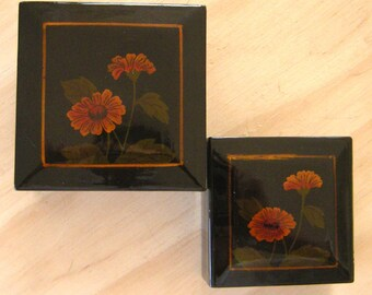 Vintage Chinese Lacquer Nesting Boxes