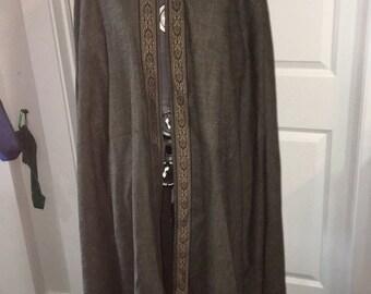 Long gray cloak