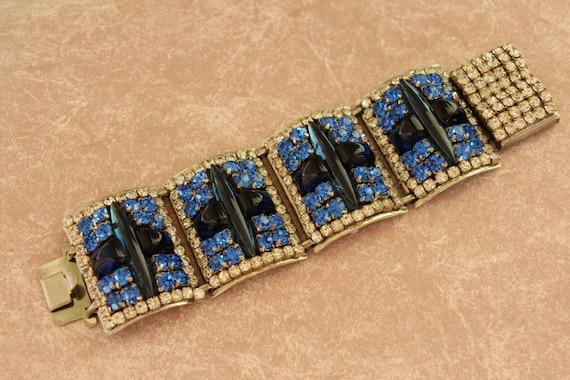 Iris G Bracelet, Huge One of a Kind Designer Runway Style