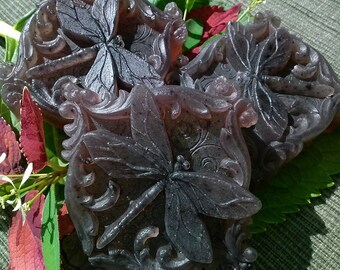 Red Currant and Thyme Glycerin Dragonfly Soap