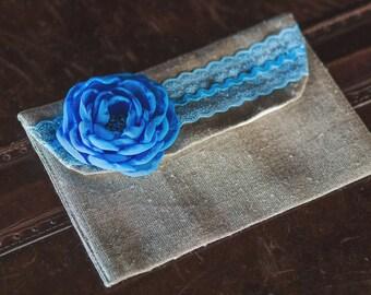 5 th clutch for FREE\clutch burlap\rustic clutch\ Wedding clutch\clutch blue\clutches for bridesmaids\ burlap cosmetic