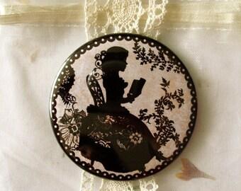 Pocket mirror - Miss Shadow Book