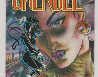 Grendel; Vol 2, 1 (1st Printing) Copper Age Comic Book.  NM- (9.2).  October 1986.  Comico.