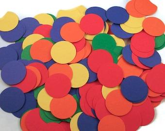 Funfetti Paper Confetti  Large Dots in  The Basics Mix Quantity 250