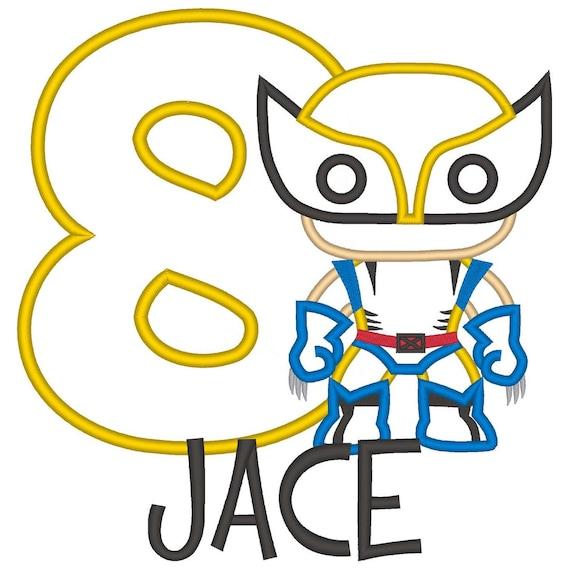 SAMPLE SALE, Wolverine Cutie Shirt - Wolverine Birthday Shirt -X-Men Birthday - Marvel Comics - James Howlett