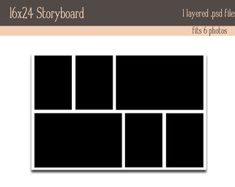 16x24 Storyboard INSTANT DOWNLOAD