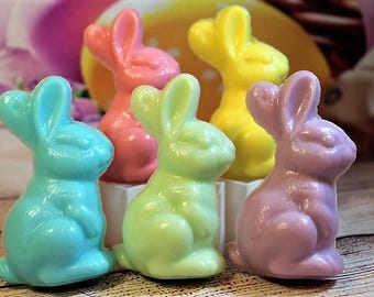 Easter Bunny Soap, Bunny Soap Favors, Easter Soap, Easter Gift, Easter Favors, Bunny Theme Party Favors, Rabbit Soap, Rabbit Favors, Easter