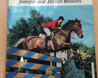 Girls' Book of Horses & Riding, vintage horse book