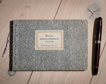 upcycling Sketch Book Goethe