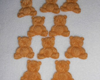 10 your honey bear appliques / sewing decor - on booties and other... 3 x 3 - baby.