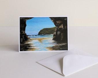 Remarkable Cave fine art Tasmanian greeting card