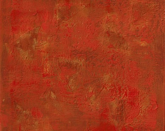 Fame and Reputation,Feng shui abstract print,  fire, red, FREE SHIPPING , 12x12 inch (30x30cm),   20x20inch (50x50cm)