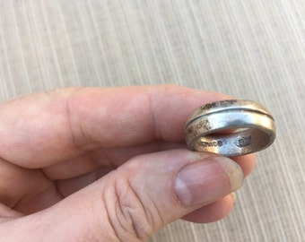 Sterling Band Ring -- 133