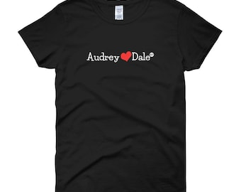 Women short sleeve t-shirt Audrey&Dale - One true pair OTP Twin Peaks TVshow Audrey Horne Dale Cooper