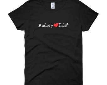 Women short sleeve t-shirt Audrey&Dale - One true pair OTP Twin Peaks TVshow Audrey Horne Dale Cooper