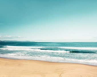ocean photography coastal decor nautical beach photography 8x10 11x14 fine art photography nature ocean waves coastal print teal wall art