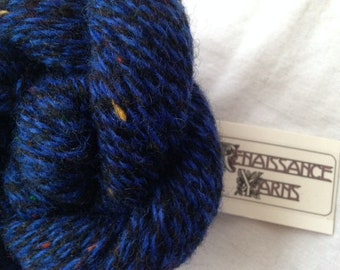Recycled Shetland Wool Yarn, Reclaimed 6-ply Bulky Weight Yarn, 1,142 yds available @ 0.04/yd