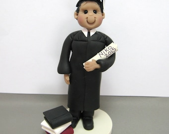 Personalized Graduation Cake Topper Figurine Custom Made To Order