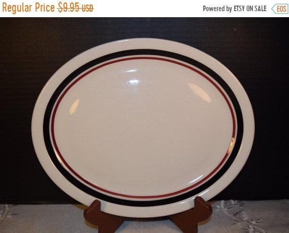 Delayed Shipping Jackson China Large Diner Plate Vintage Restaurant Diner Ware Plate Cafe Diner Plate Platter Restaurant China Cottage Chic