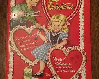 Random House Reproduction Book of Vintage Flocked Valentine's