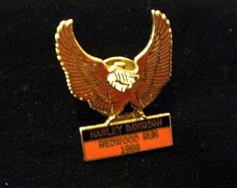 Harley Davidson Redwood Run 1990
