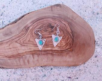 Arrowhead Queen earrings