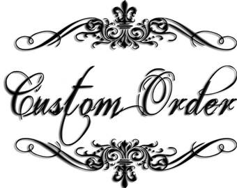 Custom Order for 8pc set knobs