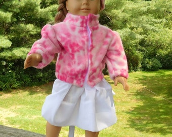 18 inch doll jacket and hat