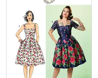 Butterick Pattern B6556 Misses' Dress