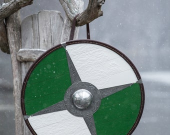 "Medieval Viking Shield ""Evening Star"""