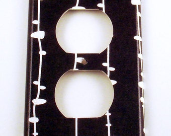 Light Switch Cover Wall Decor  Switchplate  Outlet Switch Plate in Novel ( 191O)