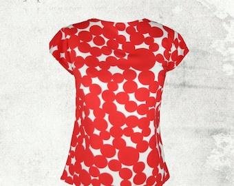 PDF Sewing Pattern: Tara Tee Top Sizes 2 - 12