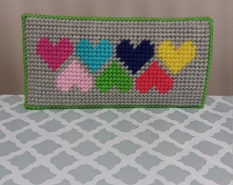 Hearts eyeglass case