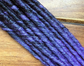 Synthetic Dreads - Lavender Transitional SE - SET OF 4