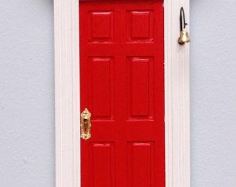 Red Fairy Door / Tooth Fairy Door