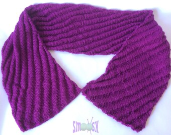 Silk Scarf: Raspberry Ripple