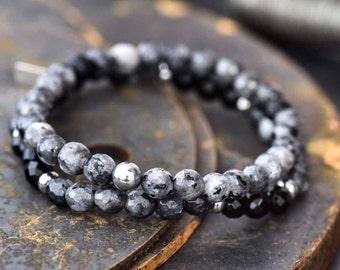 Mens bracelet, Men's onyx bracelet, men beaded bracelet,mens bracelets, bracelet for men, mens gift, mens jewelry, bracelet for him,