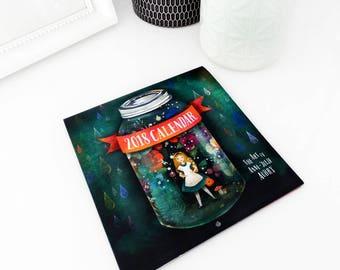 2018 Calendar - Whimsical Art - Wall Calendar