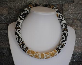 Dazzling beautiful but elegant rope necklace