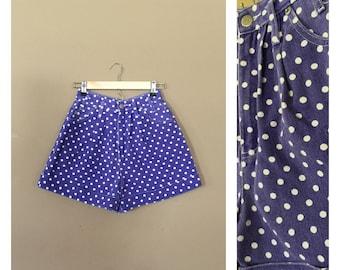 "25"" High Waisted Denim Shorts / 90s Jean Shorts / 90s Shorts / Levis High Waisted Denim Shorts / Levis Cutoffs / Denim Cutoffs / Cutoffs"