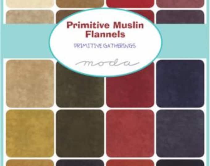 Primitive Muslin Flannels - Layer Cake