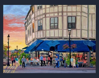 Tarrytown: Lefteris Sunset by Ronnie Levine