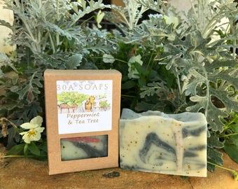Peppermint & Tea Tree Soap