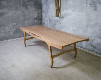 """Dining table """"Oh Love"""" - Solid wood (Cherry tree)"""